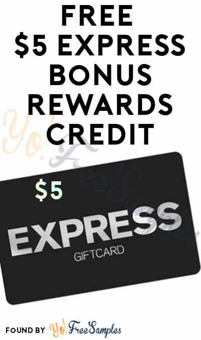 FREE $5 Express Reward For Joining Text Alerts