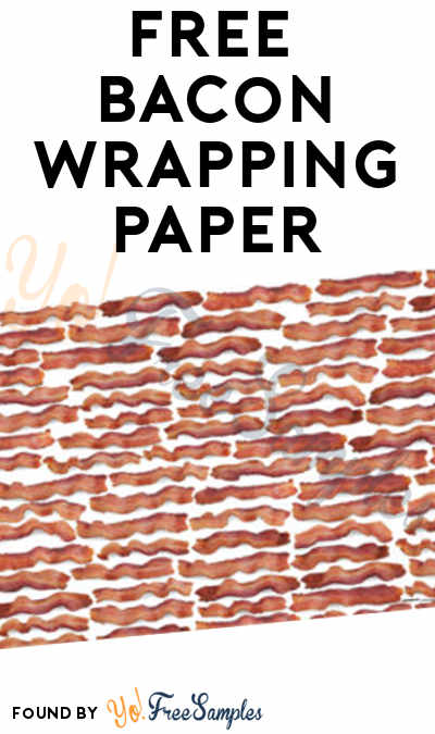 FREE Bacon Wrapping Paper