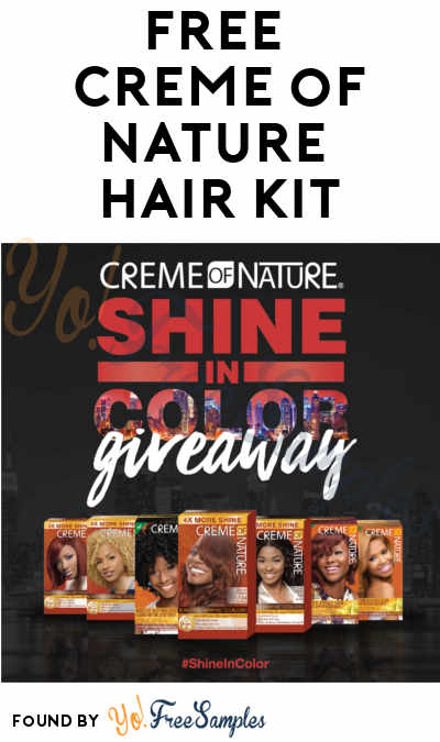 First 1,500: FREE Creme of Nature Hair Color Kit (Facebook Required)