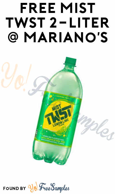 TODAY ONLY: FREE Mist TWST 2-Liter At Mariano's Stores (IL Only)