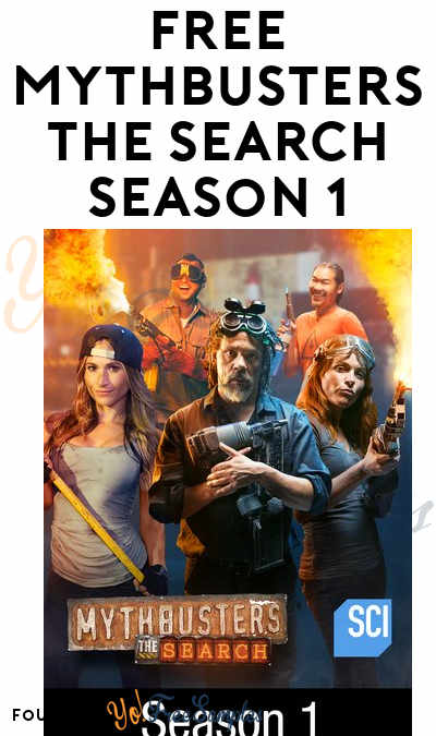 FREE Entire Season 1 Of Mythbusters: The Search HD On Amazon Instant Video, Google Play & Vudu ($15+ Value)