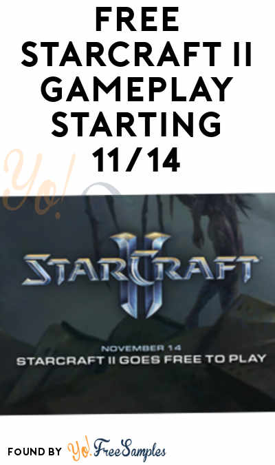 FREE Starcraft 2 Online & Limited Single Player Starting 11/14