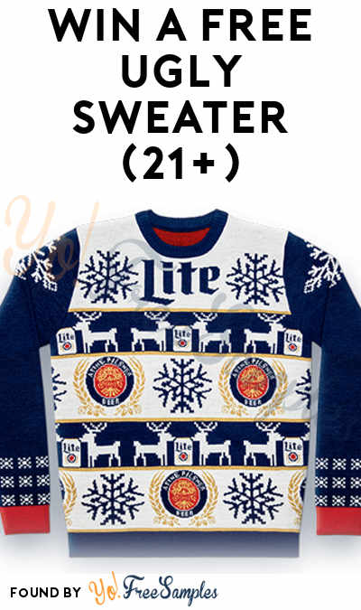 Win A FREE Miller Ugly Sweater Instantly (21+)