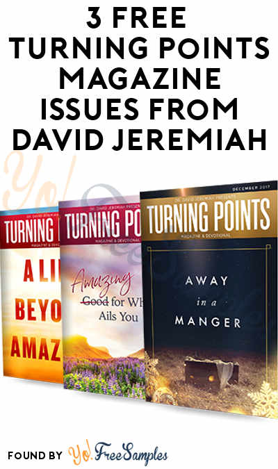 3 FREE Turning Points Magazine Issues From David Jeremiah