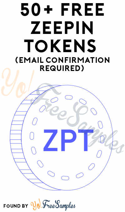 50+ FREE Zeepin Tokens (Email Confirmation Required)