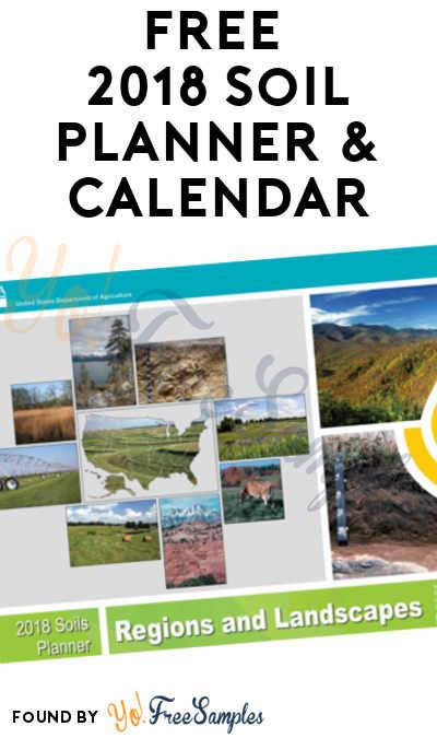 FREE 2018 Soil Planner & Calendar