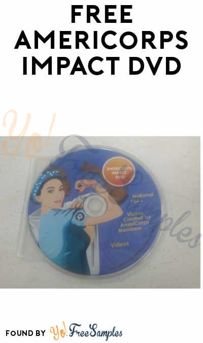 FREE AmeriCorps Impact DVD