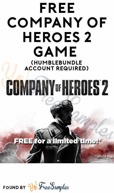 FREE Company Of Heroes 2 Game (HumbleBundle Account Required)