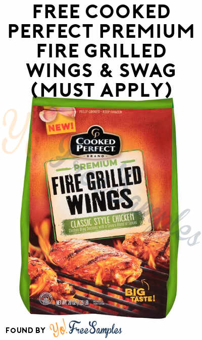 FREE Cooked Perfect Premium Fire Grilled Wings, Foam Footballs, Bottle Openers, Coupons & More (Apply To HouseParty)
