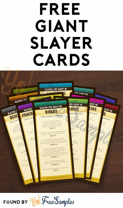FREE Giant Slayer Cards