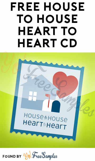 FREE House To House Heart To Heart CD