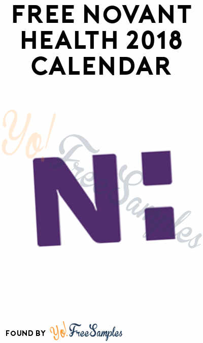 FREE Novant Health 2018 Calendar