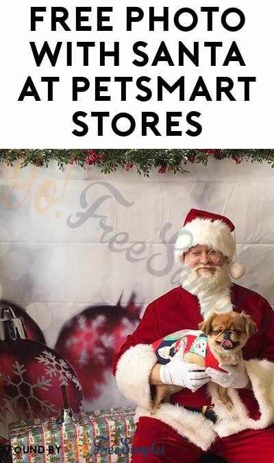 FREE Photo With Santa At PetSmart Stores