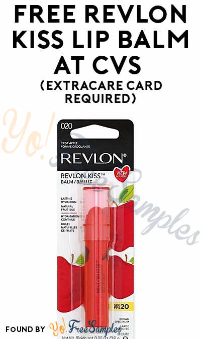 FREE Revlon Kiss Lip Balm At CVS (ExtraCare Card Required)