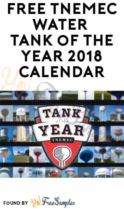 FREE Tnemec Water Tank of the Year 2018 Calendar