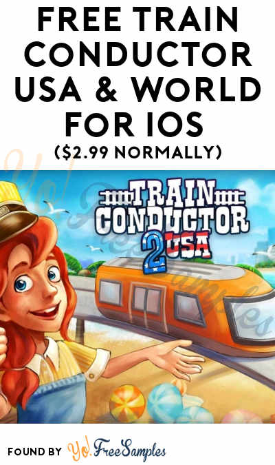 FREE Train Conductor USA & World For iOS ($2.99 Normally)