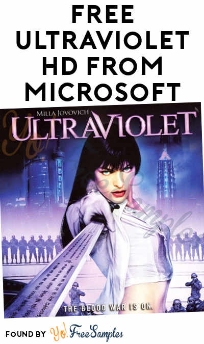 FREE Ultraviolet HD From Microsoft