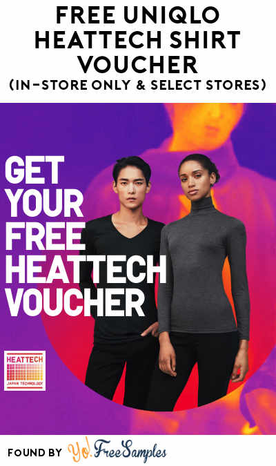 FREE Uniqlo Heattech Shirt Voucher At Uniqlo (In-Store Only & Select Stores)