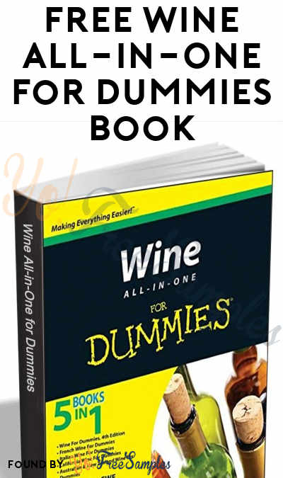 FREE Wine All-In-One For Dummies eBook