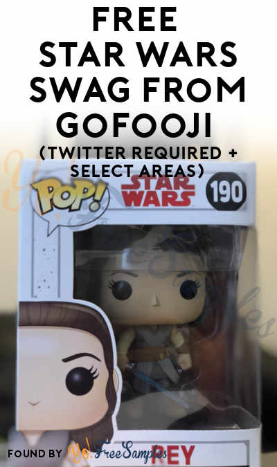 Win FREE Star Wars Swag From GoFooji (Twitter Required + Select Areas)