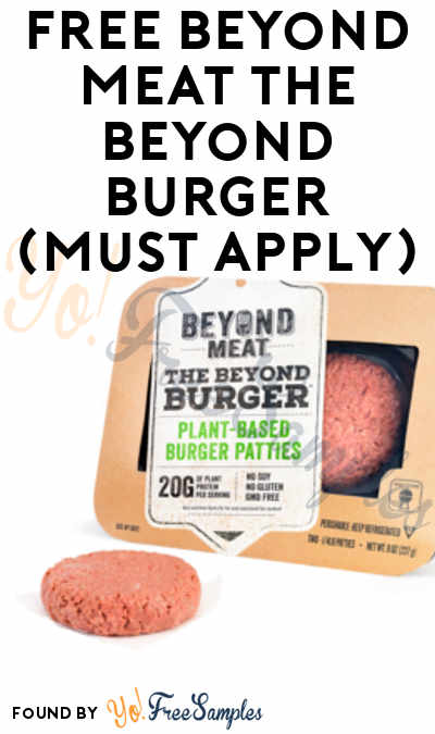 FREE Beyond Meat Plant-Based Burger From MomsMeet (Must Apply)