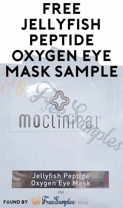 FREE Skincare Jungle Jellyfish Peptide Oxygen Eye Mask (Email Confirmation Required)
