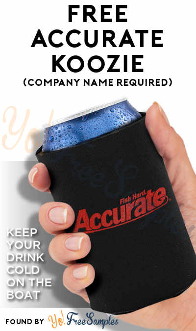 FREE Accurate Koozie