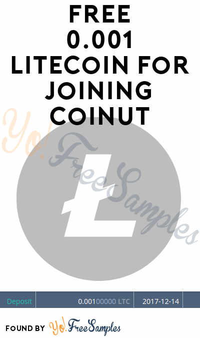 FREE 0.001 Litecoin For Joining Coinut (Mobile & Email Confirmation Required)