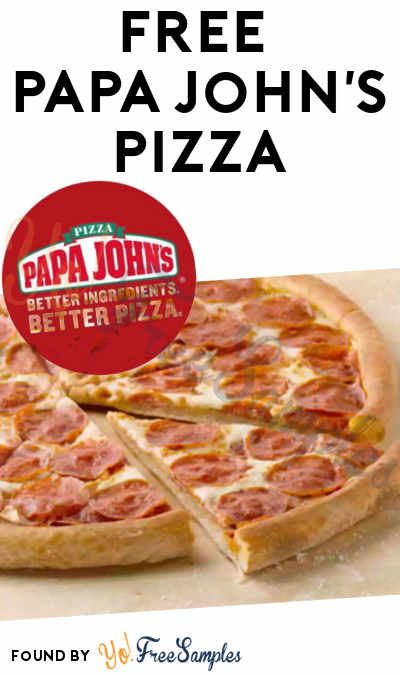 Possible FREE Papa John's Pizza For Nominating On Twitter