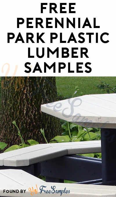 FREE Perennial Park Plastic Lumber Samples