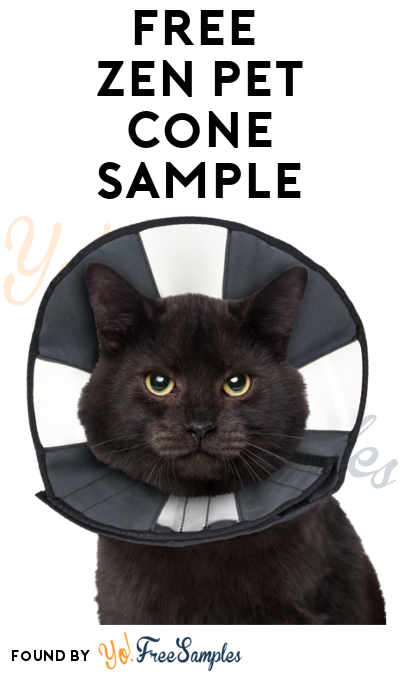 FREE Zen Pet Cone Sample (Pet Professionals Only)