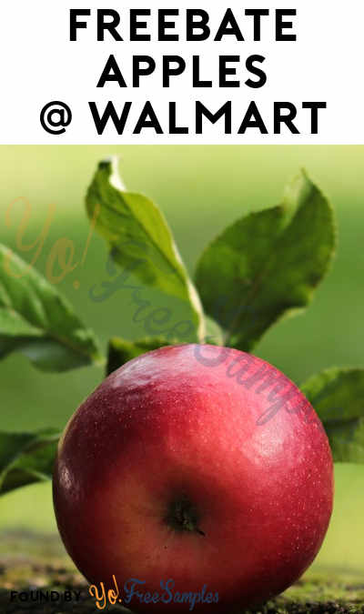 FREEBATE Apples At Walmart (Coupons App Required)