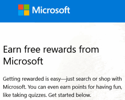 microsoft rewards how to send