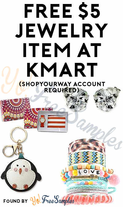 FREE $5 Jewelry Item At Kmart (ShopYourWay Account Required)