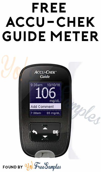 FREE Accu-Chek Guide Meter (Redeem In-Store & Test Strip Prescription Required)