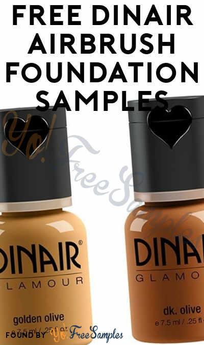 FREE Dinair Airbrush Foundation Samples