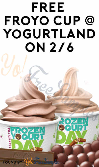 TODAY: FREE Froyo Cup At Yogurtland On 2/6