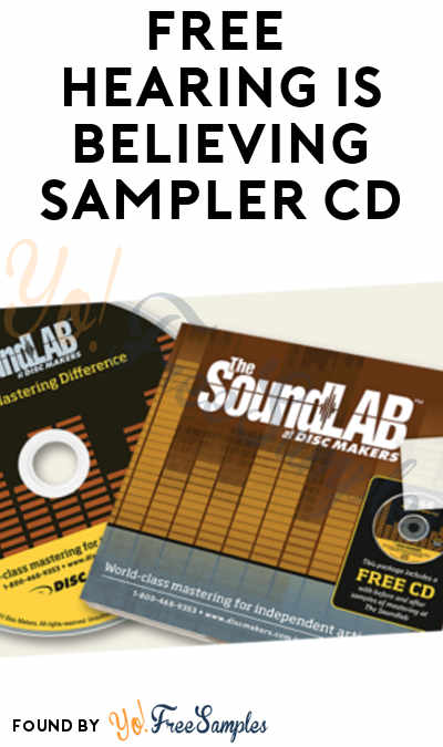FREE Hearing Is Believing Sampler CD