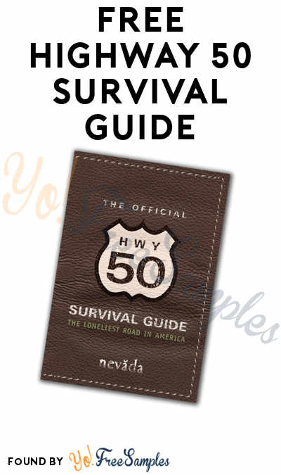 FREE Highway 50 Survival Guide