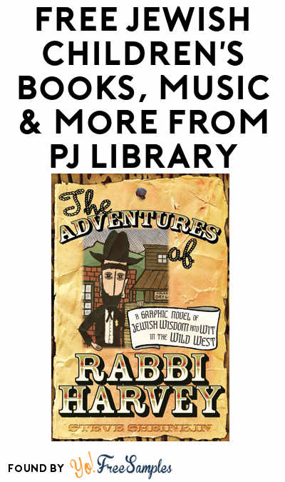 FREE Jewish Children's Books, Music & More From PJ Library