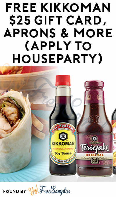FREE Kikkoman $25 Gift Card, Apron & More (Apply To RippleStreet)