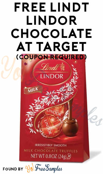 1-4 FREE Lindt Lindor Chocolate At Target (Coupon Required)