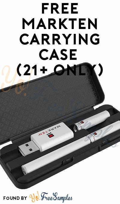 FREE MarkTen Carrying Case (21+ Only) [Verified Received By Mail]