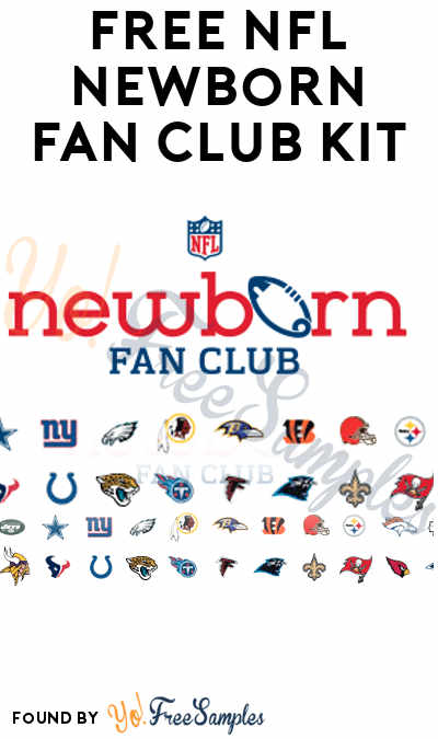 FREE NFL Newborn Fan Club eKit