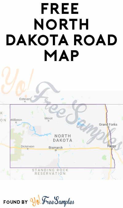 FREE North Dakota Road Map