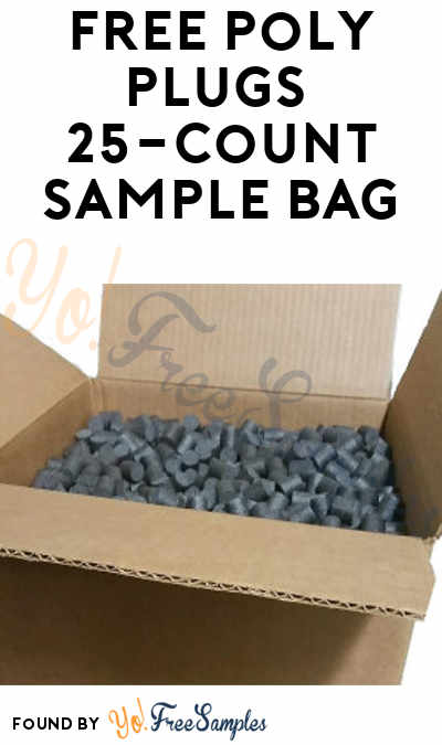 FREE Poly Plugs 25-Count Sample Bag