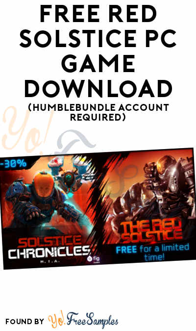 FREE Red Solstice PC Game Download (HumbleBundle Account Required)