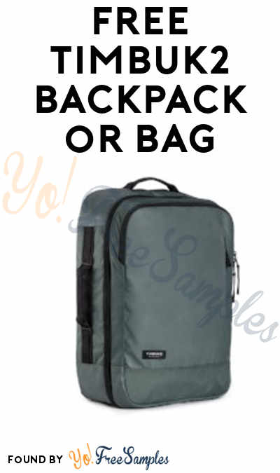 FREE Timbuk2 Backpack, Duffel Bag, Shoulder Bag, Messenger Bag, Tote Bag or Travel Bag From ViewPoints (Must Apply)