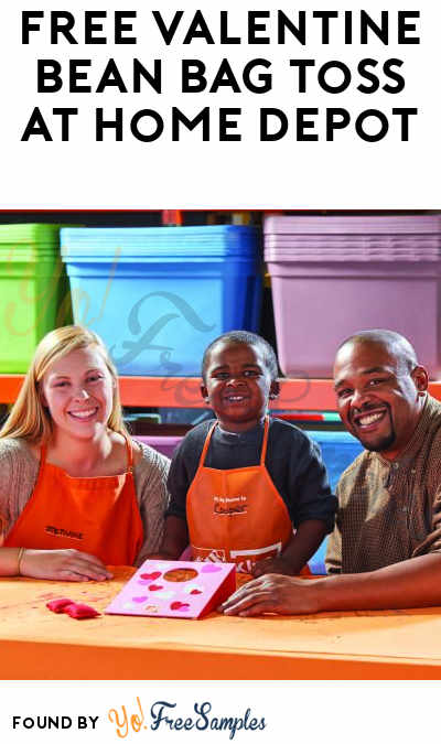 FREE Valentine Bean Bag Toss At Home Depot on February 3rd 2017 9AM-12PM