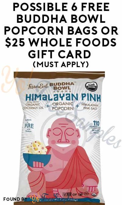 Buddha Bowl Popcorn Whole Foods